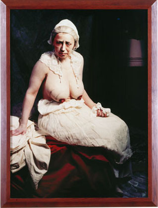Untitled #222, 1990, © Cindy Sherman, Courtesy the artist and Sprüth Magers Berlin London