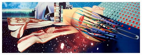 Edition James Rosenquist-Star Thief, 1980 				Star Thief, 1980