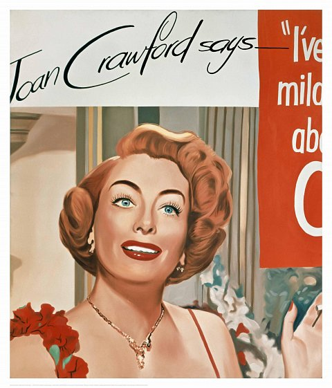 Edition James Rosenquist-Untitled (Joan Crawford Says...), 1964 				Untitled (Joan Crawford Says...), 1964